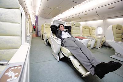 飞机最佳座位调查